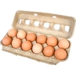 Ovos Pufa Grande Verm com 12 Ino