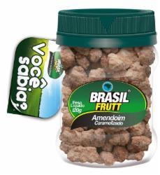 AMENDOIM CARAMELIZADO BRASIL FRUTT 120G