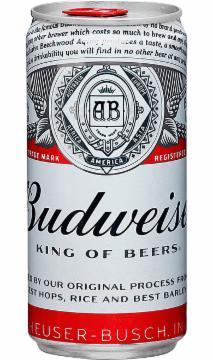 Cerveja Budweiser 269ml Lata