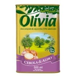Oleo Comp Olivia 500ml Cebola Alho