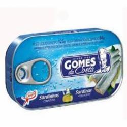 Sardinha Gomes Costa 125g Oleo