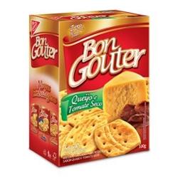Biscoito Bon Gouter 100g Tomate Seco  com Parmesão