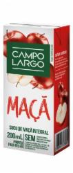 Suco Campo Largo 200ml Maçã Integral