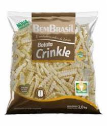 BATATA BEM BRASIL 2KG CRINKLE