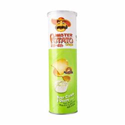 BATATA MISTER POTATO 130G SOUR CREAM ONION