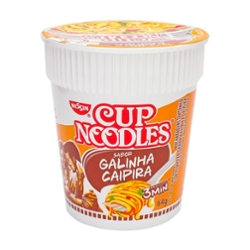 MACARRAO INSTANTANEO Cup Noodle 71g Galinha Caipira