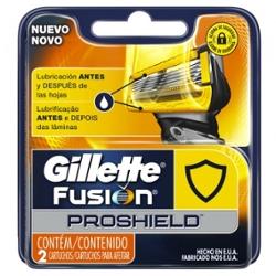 Carga Gillette Fusion Proshield com 2