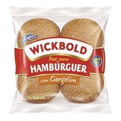 Pão Hamburger Wickbold 200g Gergelim com 4
