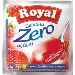 Gelatina Royal Zero 12g Morango
