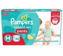 Fralda Pampers Confort Sec Pants M com 40