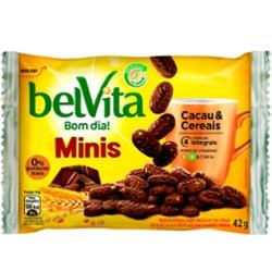 Biscoito Belvita Mini 42g Cacau e Cereais