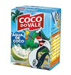Água de Coco Coco Do Vale 200ml Looney Tunes