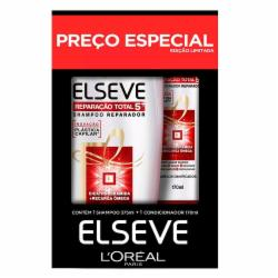 Kit Elseve Shampoo 375ml + Condicionador 170ml RT5+