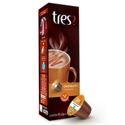 Capsula Tres Coracoes Chocolatto Caramelo 8g