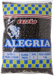 Feijão Preto So Alegria 1kg