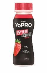 Iogurte Líquido Yopro 250ml Morango