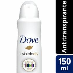 Desodorante Dove Aerossol 150ml Feminino Invisible Dry