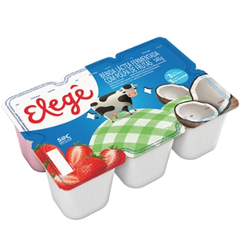 Bebida Láctea Polpa Elege 540g Mor/Coco