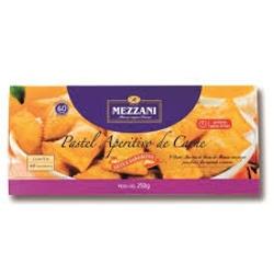 Pastel Aperitivo Mezzani 250g Carne