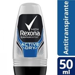 Desodorante Roll On Rexona 50ml Masc Active Dry