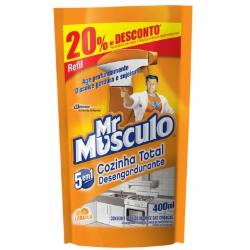 LIMP DESENG MR MUSCULO 400ML SACHET 20%DESC