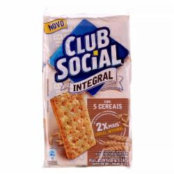 Biscoito Club Social 144g Integral 5 Cereais