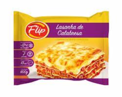 LASANHA FLIP 600G CALABRESA