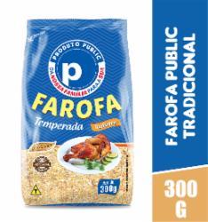 Farofa Premium Public 300g Tradicional