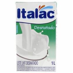 Leite Longa Vida 1L Desnatado Italac