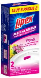 Pastilha Adesiva Lipex 10g Leve 3 Pague 2 Floral