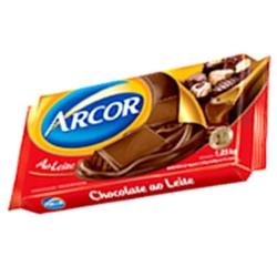 Cobertura Chocolate Arcor 1,050kg Ao Leite