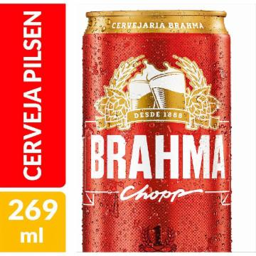 Cerveja Brahma 269ml Lata