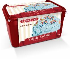 Sorvete Bariloche 1,5L Céu Azul