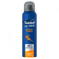 Desodorante Aerossol Suave 150ml Men Sport Fresh
