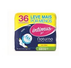 Absorvente Intimus Gel Noturno Lv36 Pg30 com Ab Seca