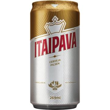 Cerveja Itaipava 269ml Lata