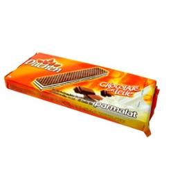 Bisc Parmalat Wafer 140g Choco/Leit