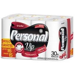 Papel Higiênico Personal Vip F Dup 30m Lv16 Pg15