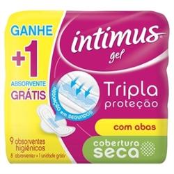 Absorvente Intimus Gel Tr Prot Lv9 Pg8 com Ab Seca
