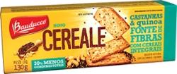 Biscoito Bauducco Cereale 130g  Castanha e Quinoa