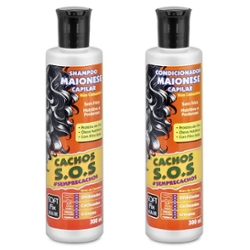 Kit Shampoo + Condicionador Softfix 300ml Maionese