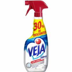 Limpa Vidros Veja 500ml Pulverizador com 30% desconto