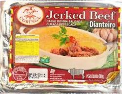 Jerked Beef Coringa 1kg Dianteiro