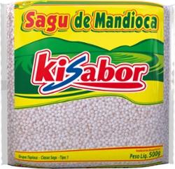 Sagu de Mandioca Ki Sabor 500g