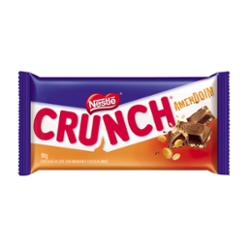 CHOC NESTLE TABLETE 98G CRUNCH AMENDOIM