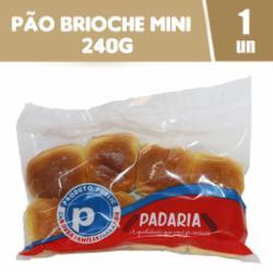 Pão Brioche Public 240g Mini