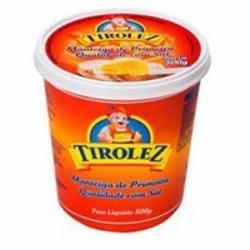 Manteiga Tirolez 500g com Sal