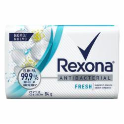 Sabonete Rexona 84g Antibacterial Fresh