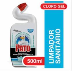 Desinfetante Pato 500ml Cloro Gel Poderosa Espumação