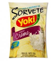 Mist Sorvete Yoki 120g Creme